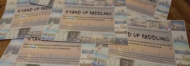 Presentkort Stand Up Paddling